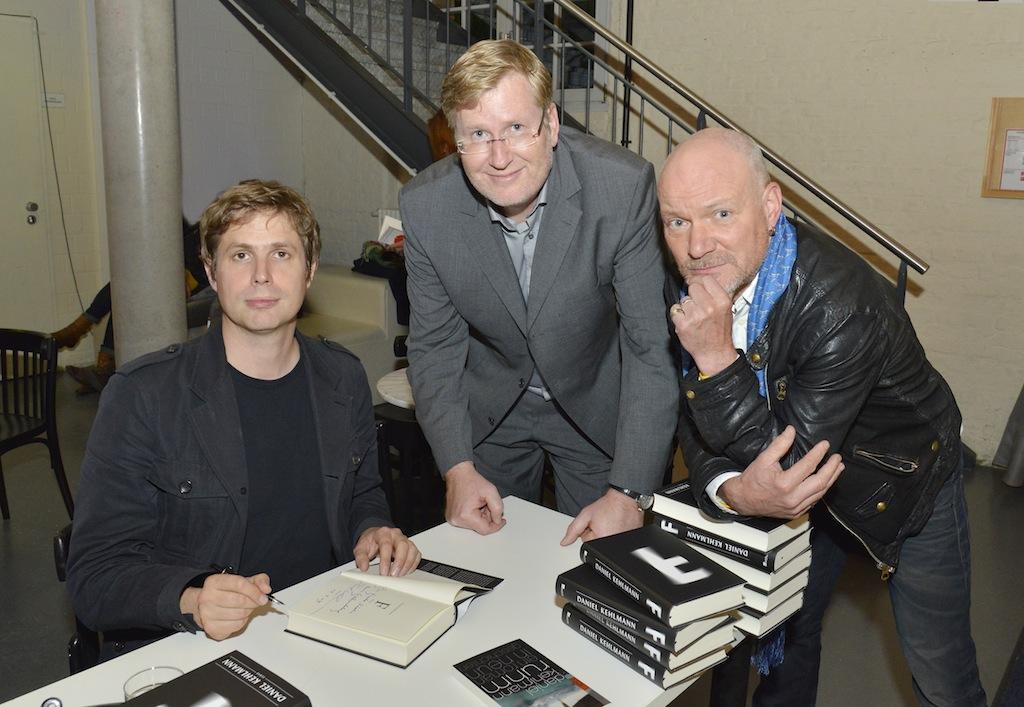 Daniel Kehlmann, Hendryk Röder, Carsten Wist